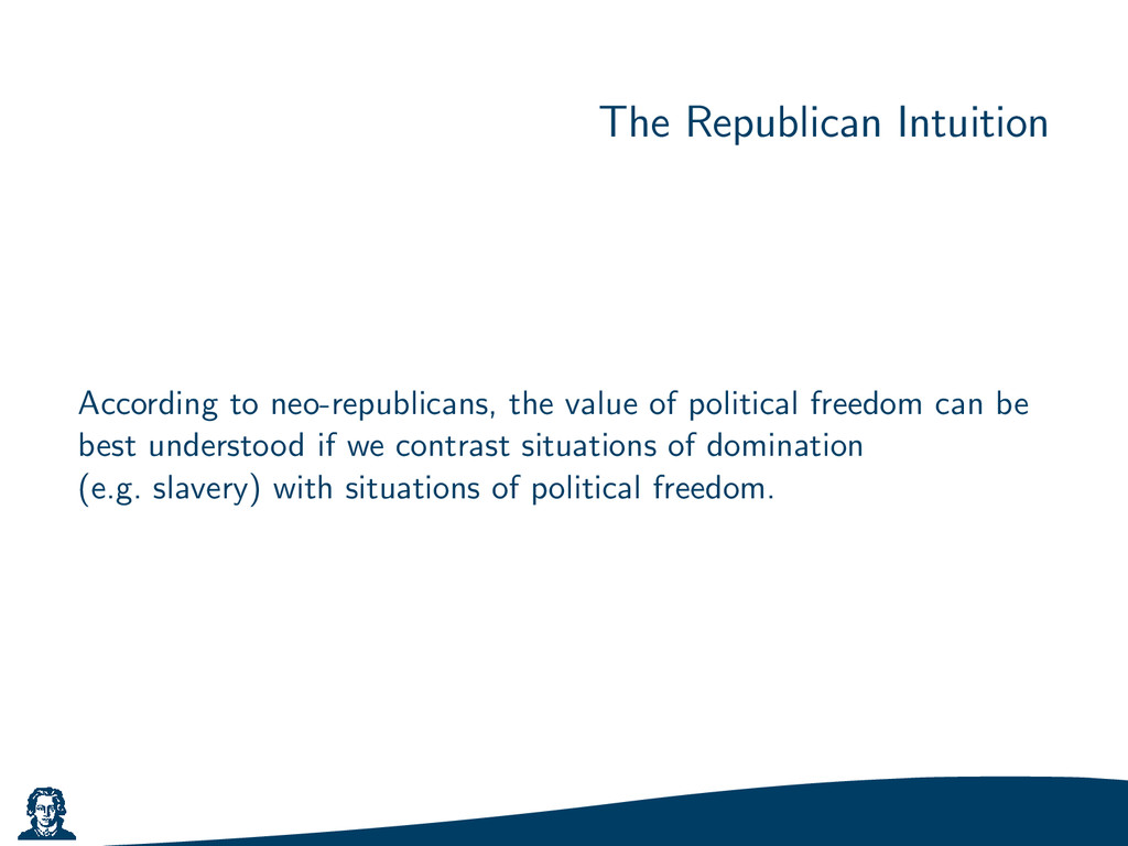The Republican Intuition According to neo-repub...