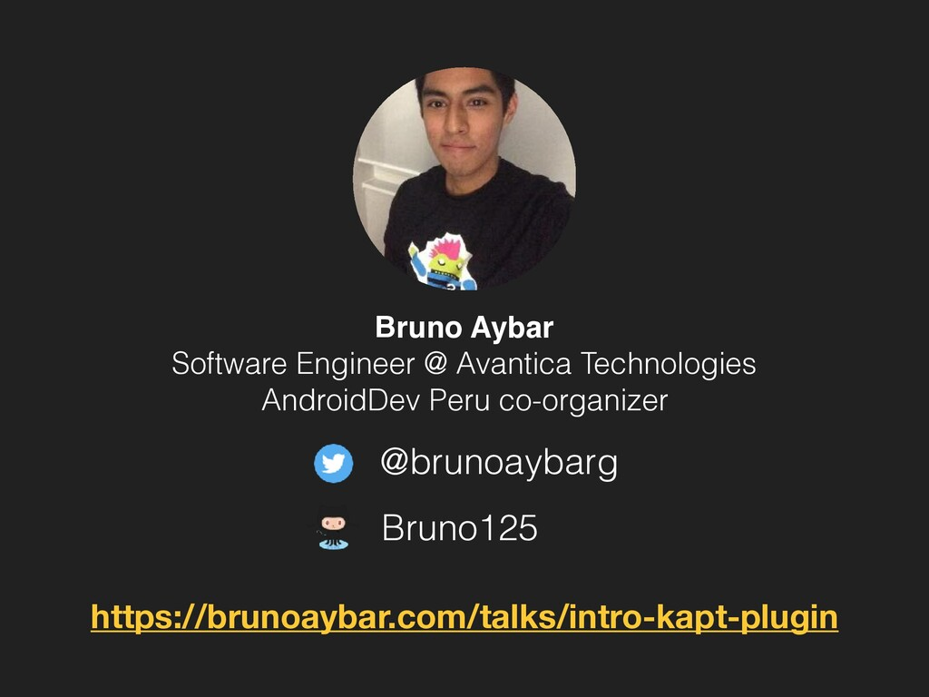 @brunoaybarg Bruno125 Bruno Aybar Software Engi...