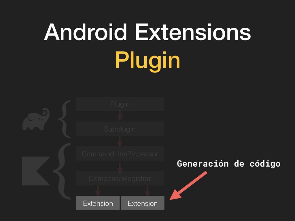 Android Extensions Plugin Plugin Subplugin Comm...