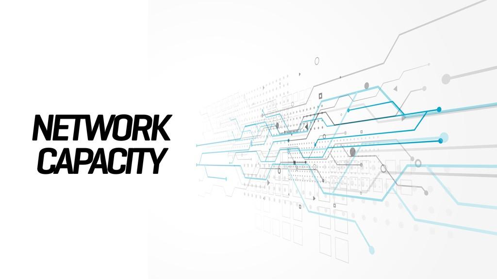 NETWORK CAPACITY