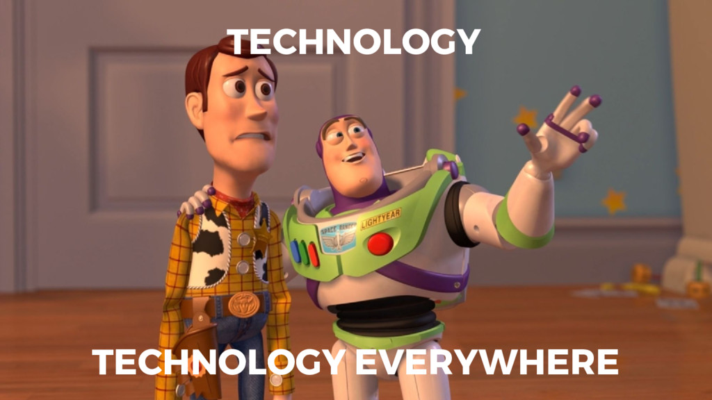 TECHNOLOGY TECHNOLOGY EVERYWHERE