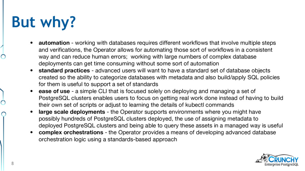 8 • automation - working with databases require...