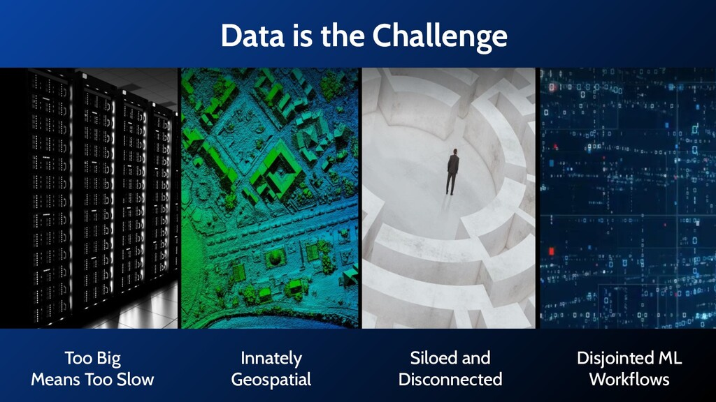 Data is the Challenge Too Big Means Too Slow In...