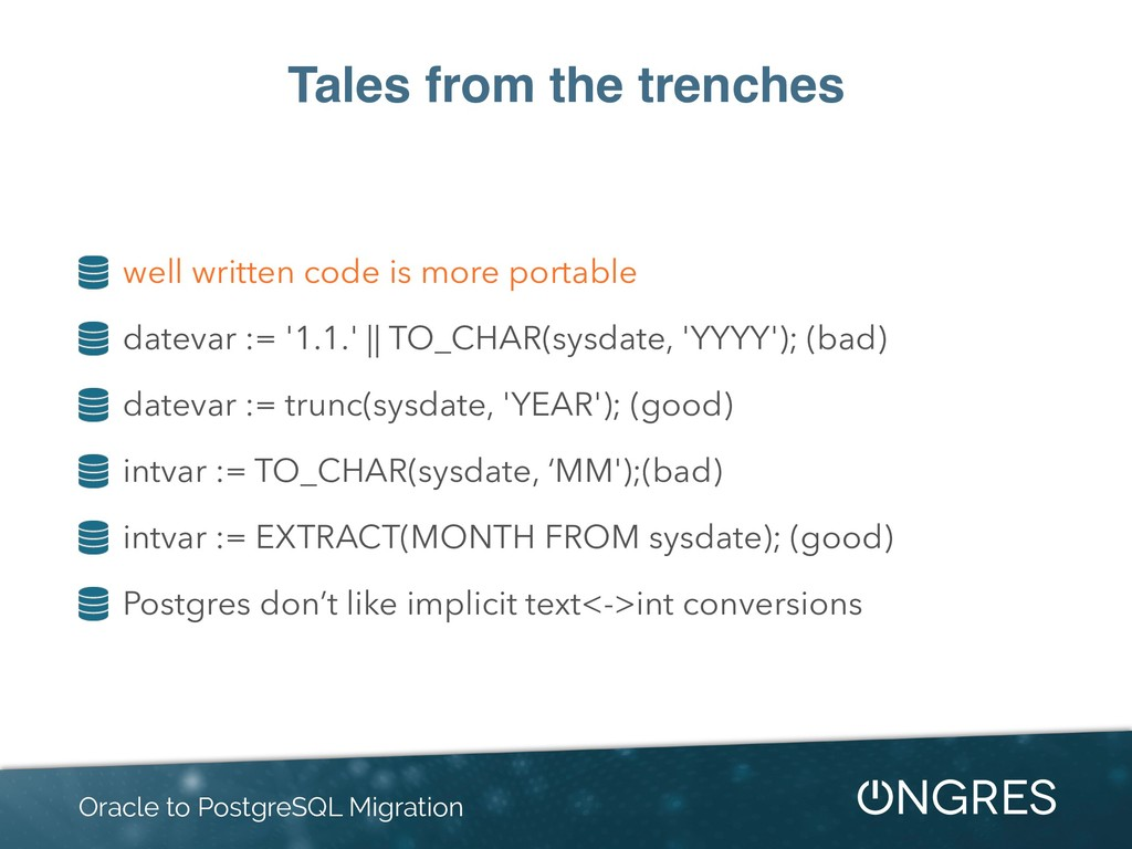 Tales from the trenches well written code is mo...