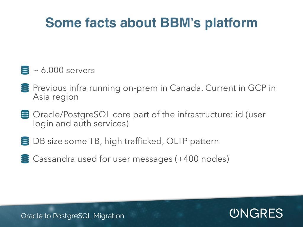 Some facts about BBM's platform ~ 6.000 servers...