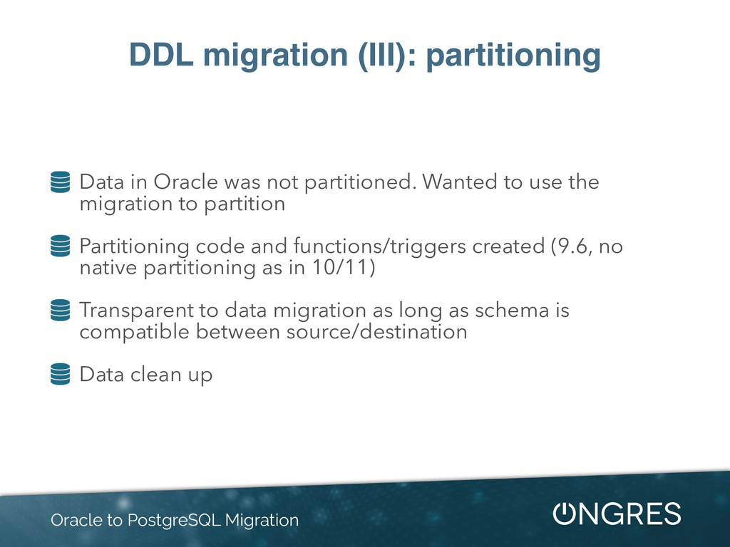 DDL migration (III): partitioning Data in Oracl...