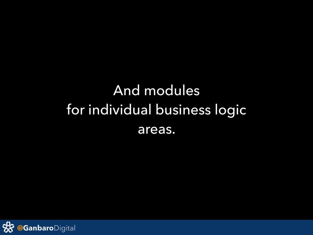 @GanbaroDigital And modules for individual busi...
