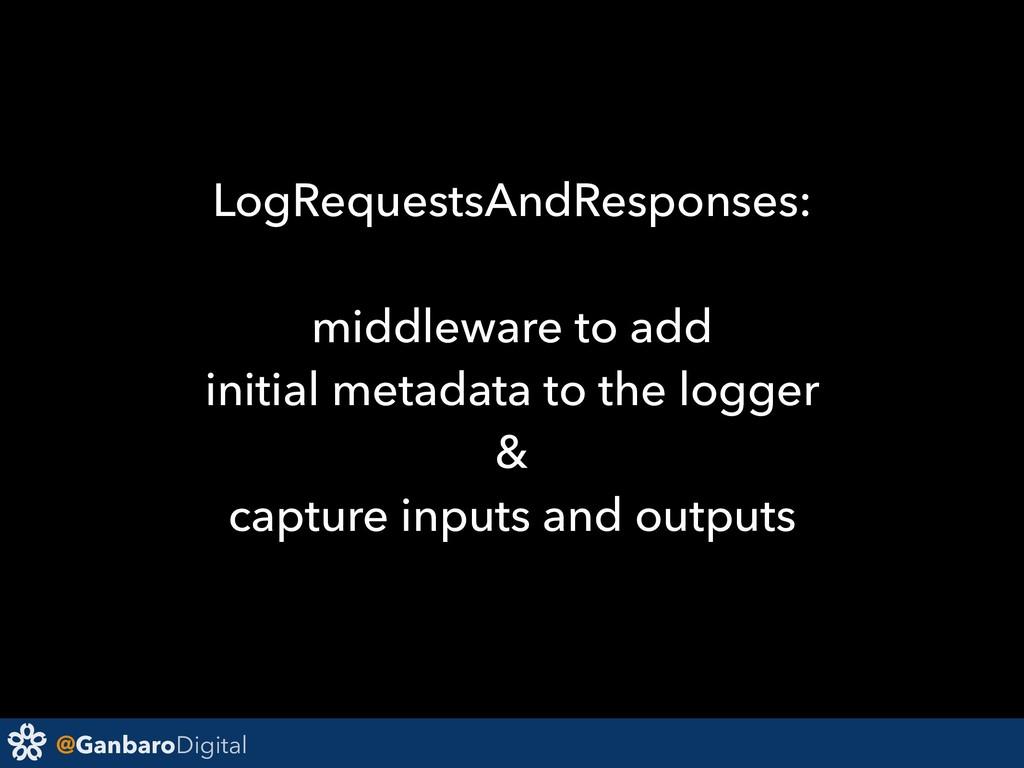 @GanbaroDigital LogRequestsAndResponses: middle...
