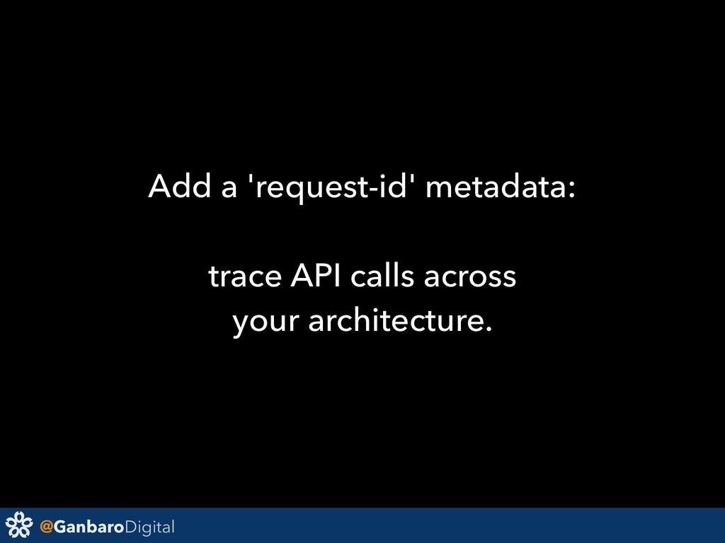 @GanbaroDigital Add a 'request-id' metadata: tr...