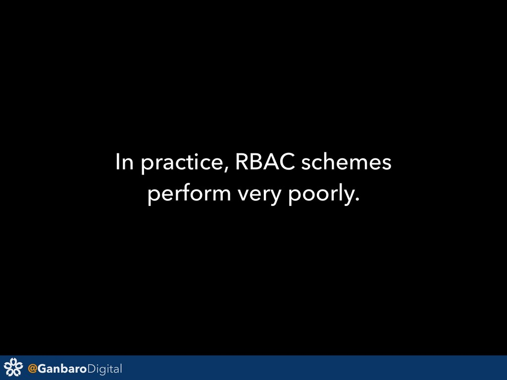 @GanbaroDigital In practice, RBAC schemes perfo...