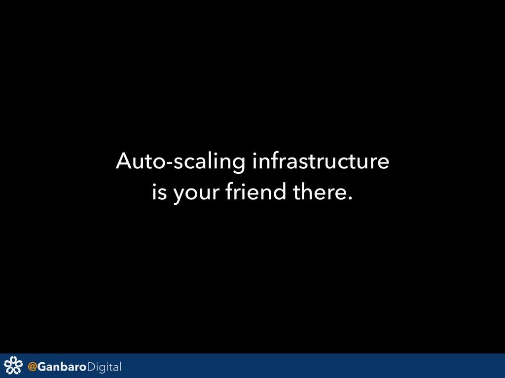 @GanbaroDigital Auto-scaling infrastructure is ...