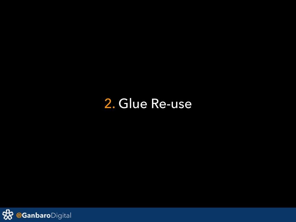 @GanbaroDigital 2. Glue Re-use