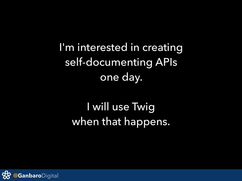 @GanbaroDigital I'm interested in creating self...