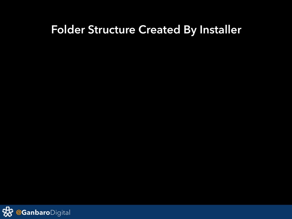 @GanbaroDigital Folder Structure Created By Ins...
