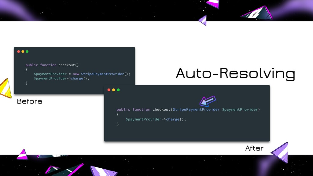 Auto-Resolving Before After