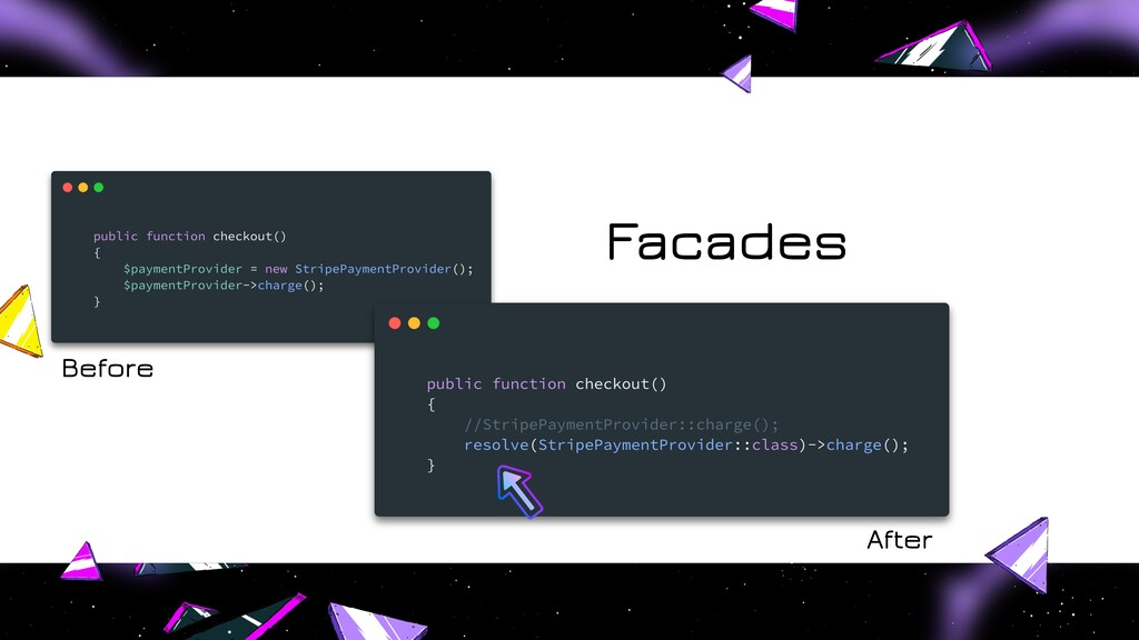 Facades Before After