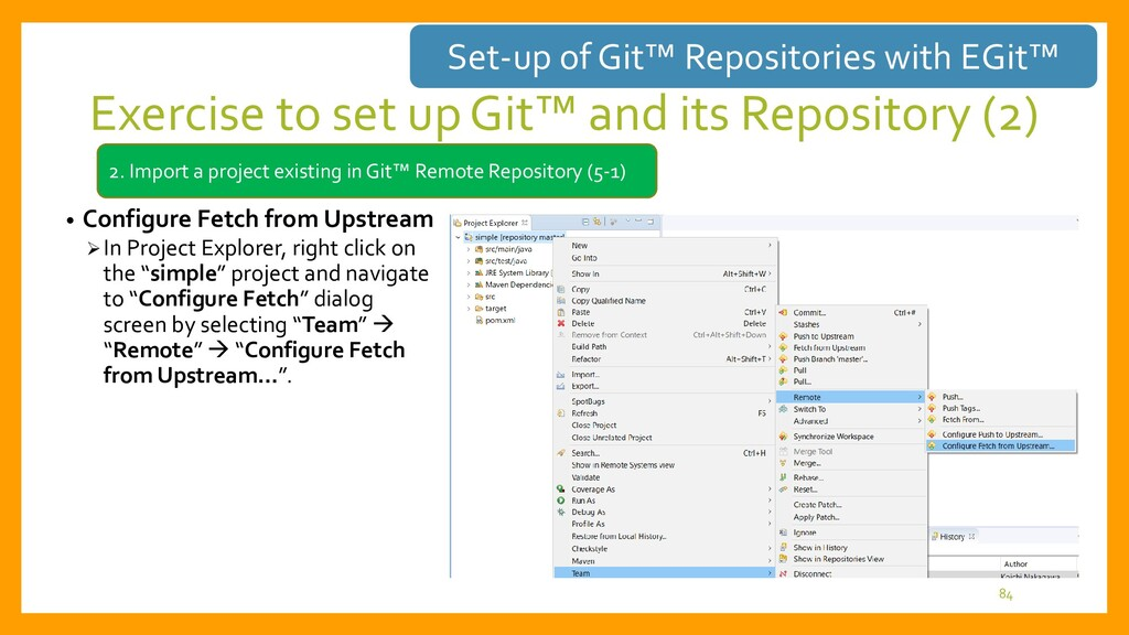 Selection of fetched repository type • How to s...