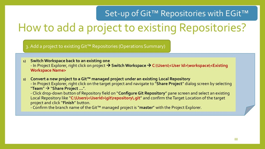 Selection of deployed repository type • How to ...