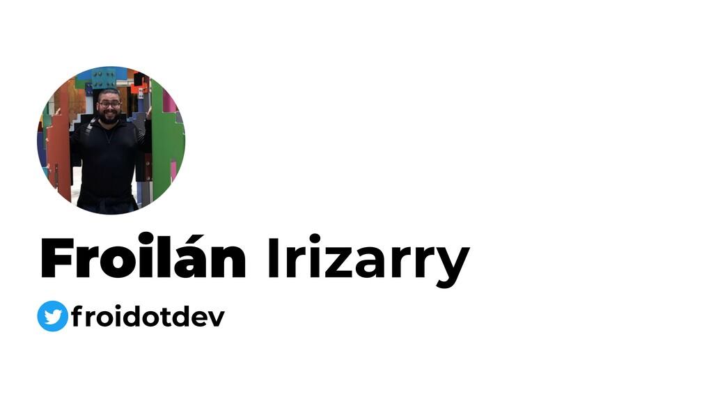 Froilán Irizarry froidotdev