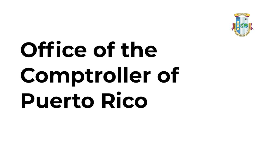 Office of the Comptroller of Puerto Rico