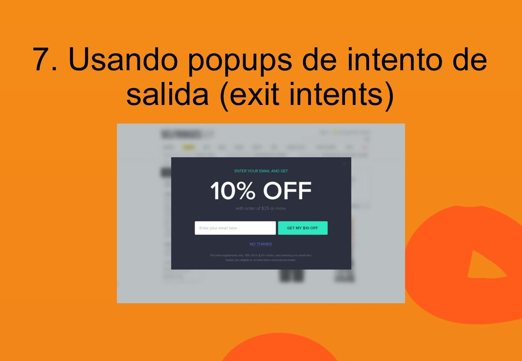 7. Usando popups de intento de salida (exit int...