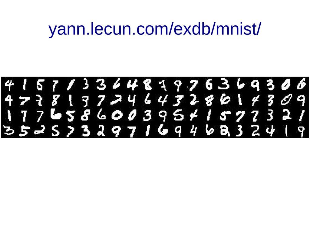 yann.lecun.com/exdb/mnist/