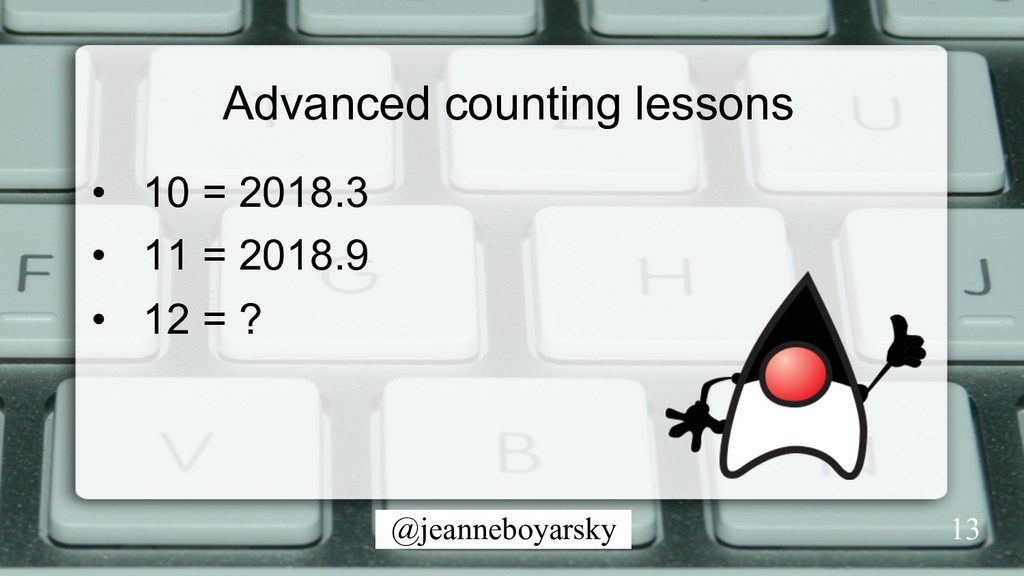 @jeanneboyarsky Advanced counting lessons •  10...