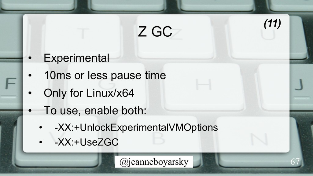 @jeanneboyarsky Z GC (11) • Experimental • 10...