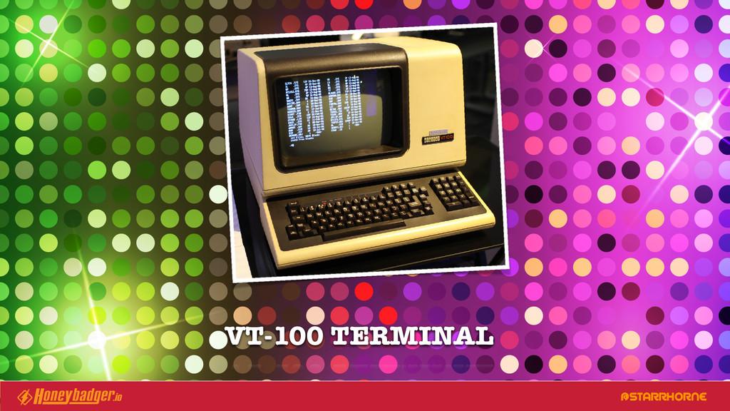 @STARRHORNE VT-100 TERMINAL