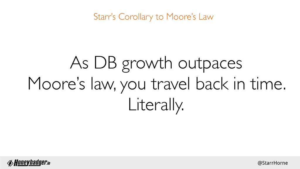 @StarrHorne Starr's Corollary to Moore's Law ...