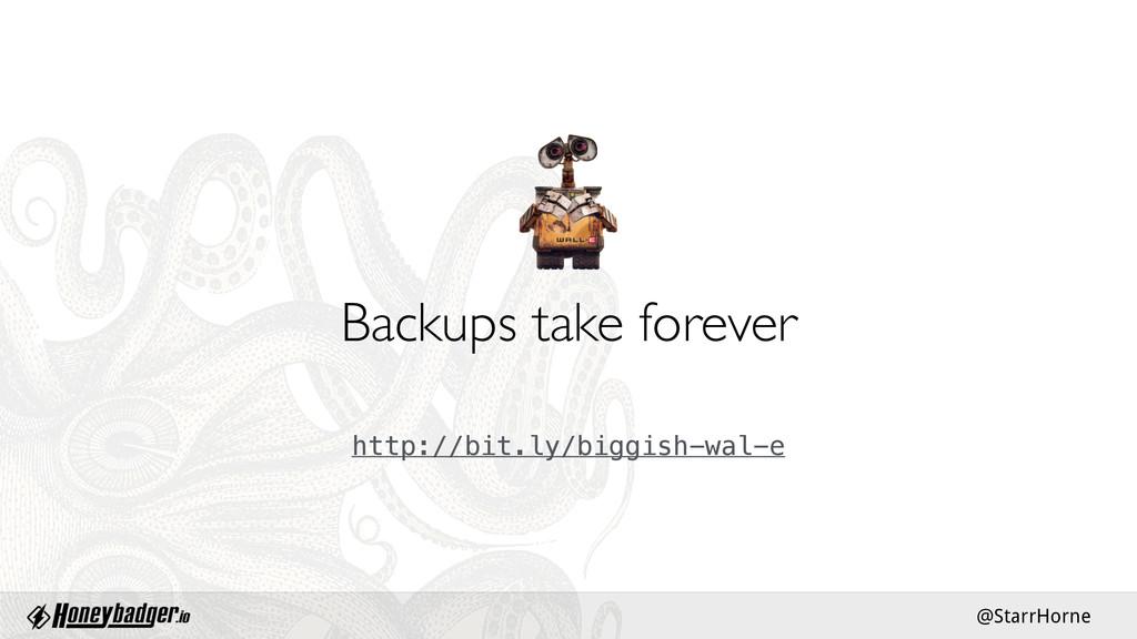 @StarrHorne Backups take forever http://bit.ly/...