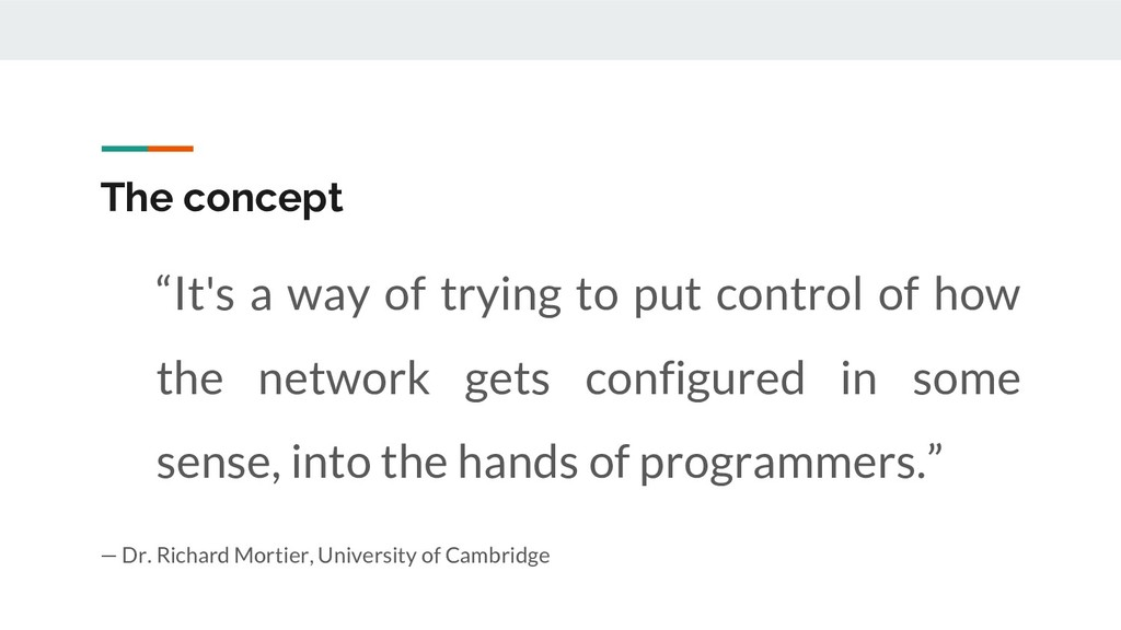 """""""It's a way of trying to put control of how the..."""
