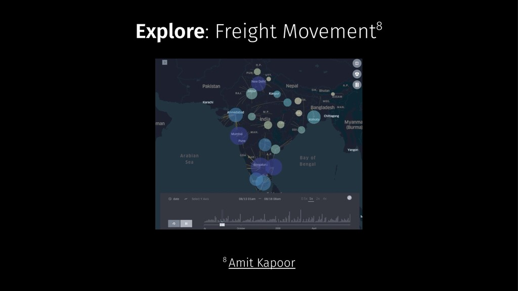 Explore: Freight Movement8 8 Amit Kapoor