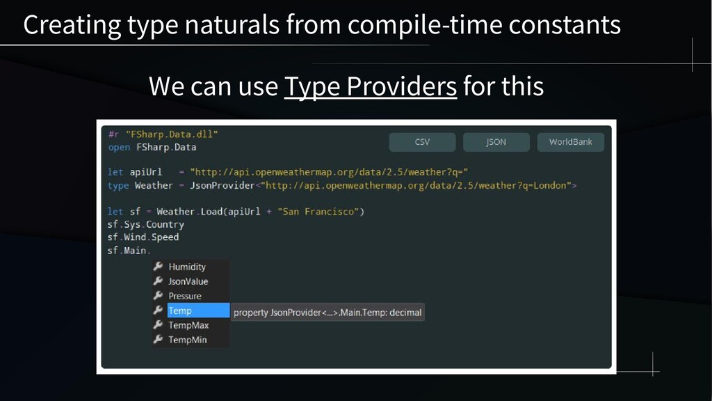 Creating type naturals from compile-time consta...