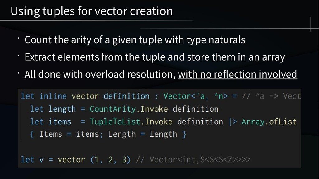 • Count the arity of a given tuple with type na...