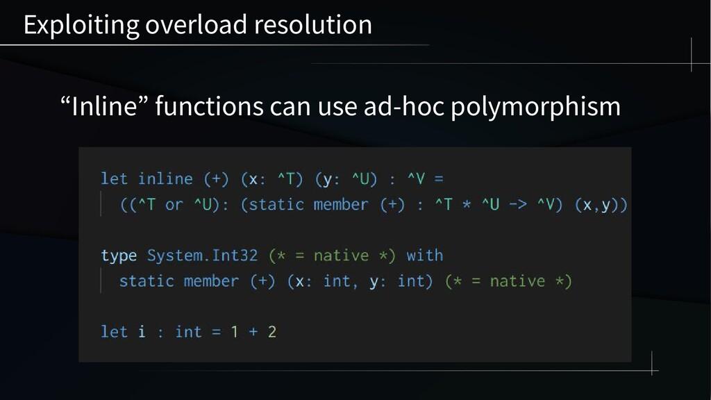 "Exploiting overload resolution ""Inline"" functio..."