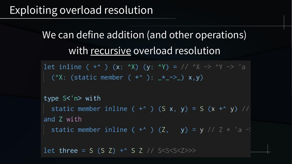 We can define addition (and other operations) w...