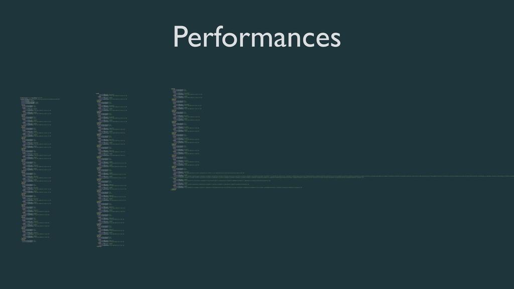 "Performances <?xml version=""1.0"" encoding=""utf-..."