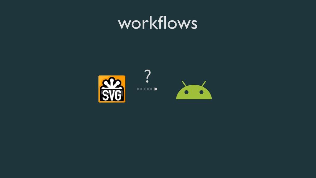 workflows ?