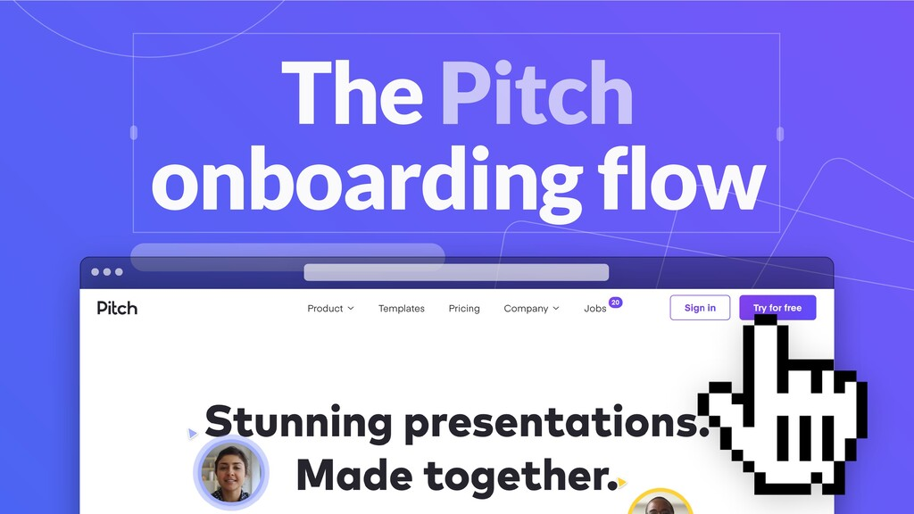 Pitch User Onboarding Fro Dec To Pit In No Tim