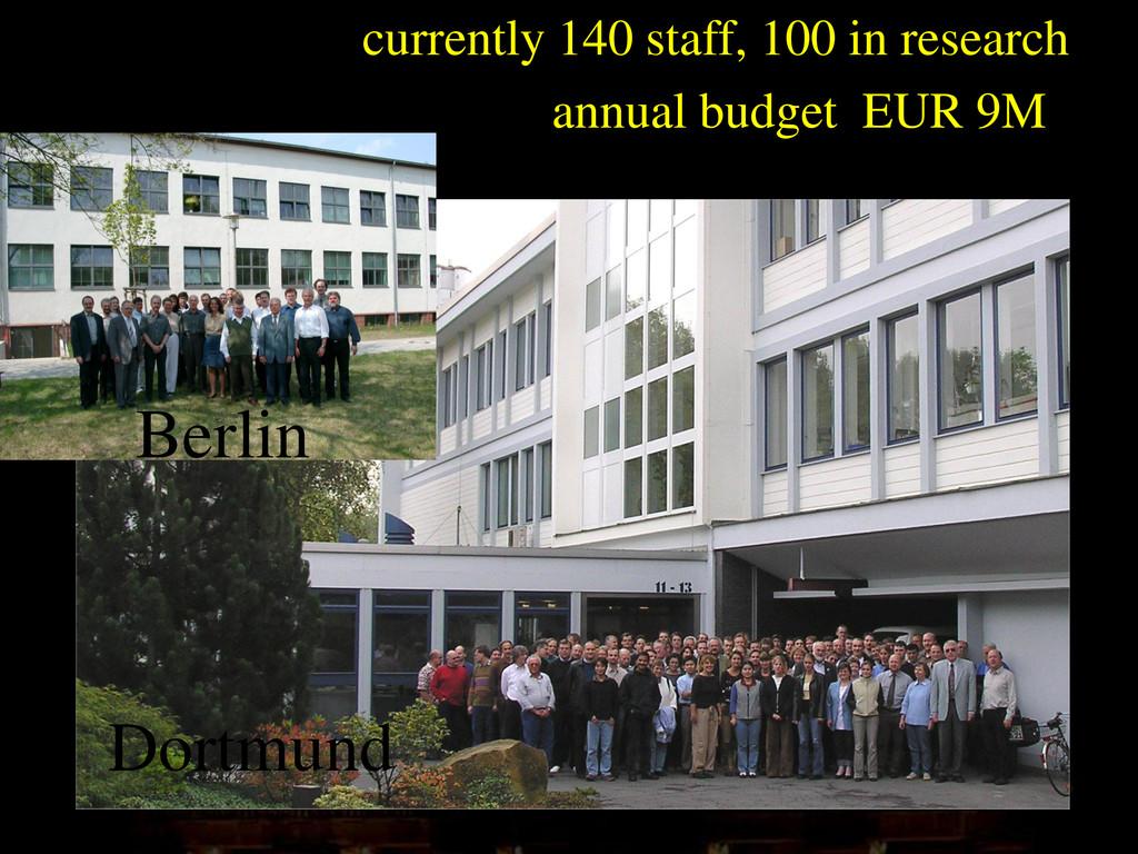 photo Berlin Dortmund currently 140 staff, 100 ...