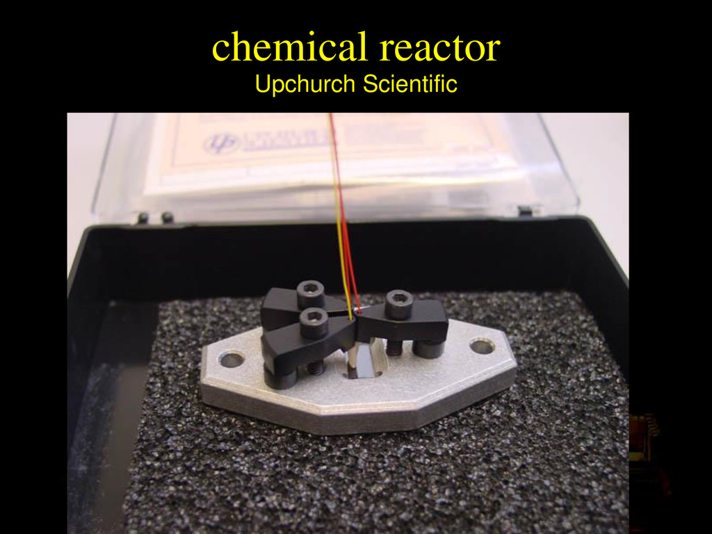 Upchurch Scientific chemical reactor