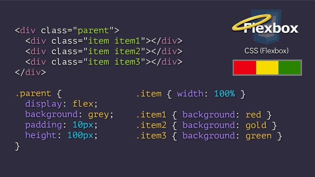 """<div class=""""parent""""> <div class=""""item item1""""></..."""