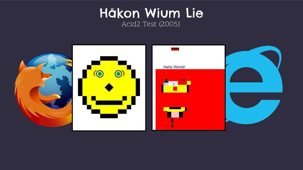 Håkon Wium Lie Acid2 Test (2005)