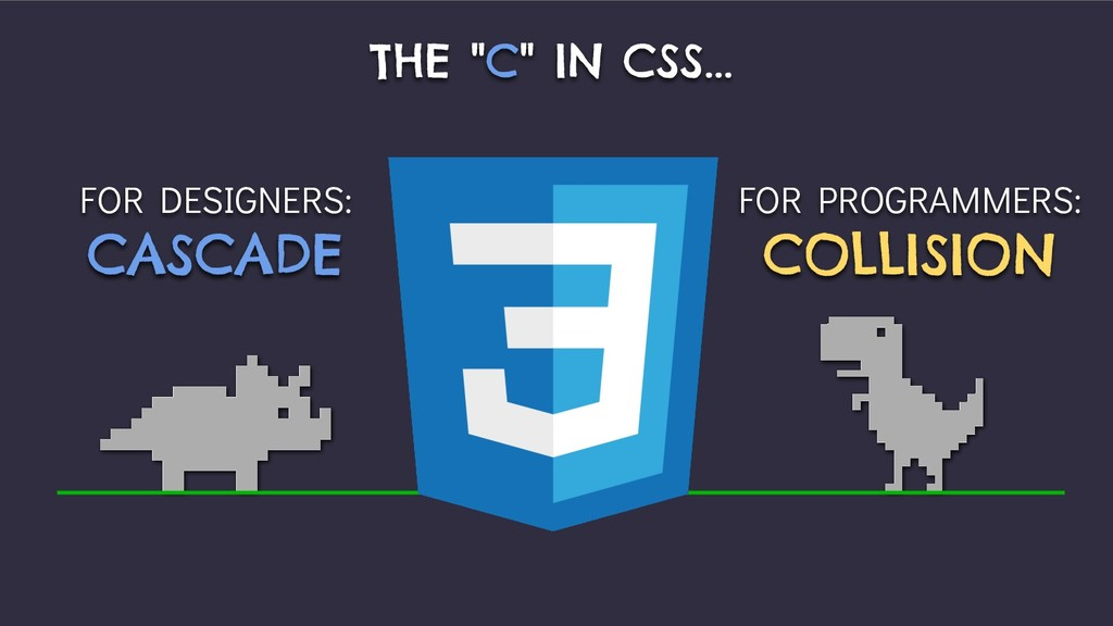 """FOR DESIGNERS: CASCADE THE """"C"""" IN CSS... FOR PR..."""