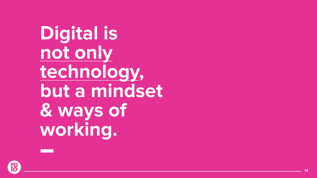Digital is