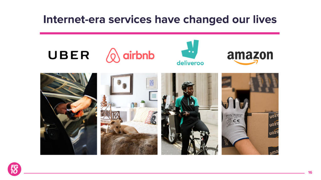 16 Internet-era services have changed our lives