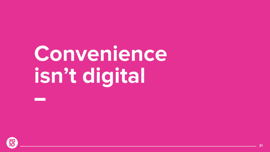 21 Convenience 