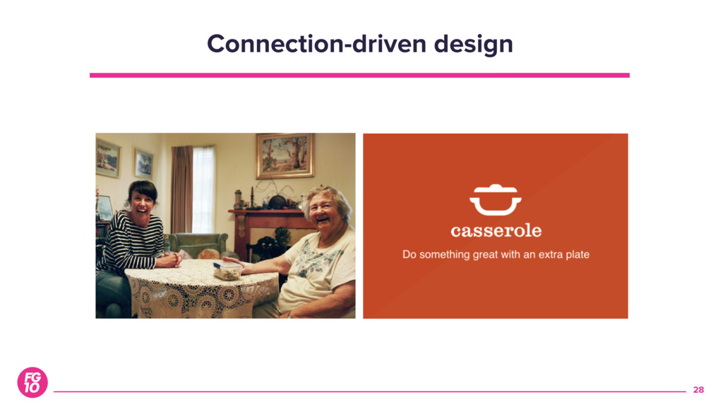 28 Connection-driven design