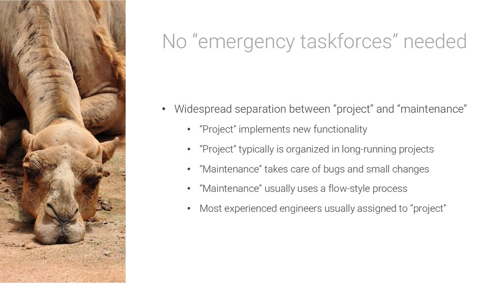 """Thus, an """"emergency task force"""" is set up"""